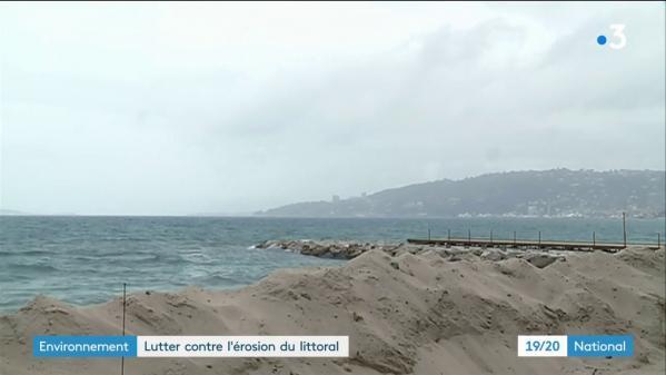 Alpes-Maritimes : lutter contre l'érosion du littoral
