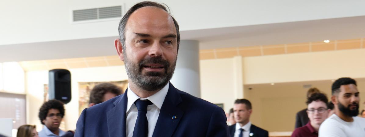 """Édouard Philippelance la stratégie \""""Bienvenue en France\"""", pour attirer plus d\'étudiants étrangers en France d\'ici 2027."""