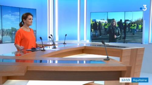 """Non, France 3 Aquitaine n'a pas censuré une journaliste en direct lors d'un blocage des """"gilets jaunes"""""""
