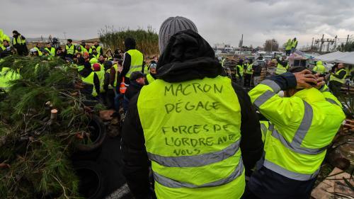"""""""Gilets jaunes"""" : quatrième jour de mobilisation"""