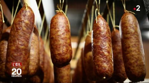 """VIDEO. La saucisse de Morteau, une spécialité régionale entourée de """"made in China"""""""