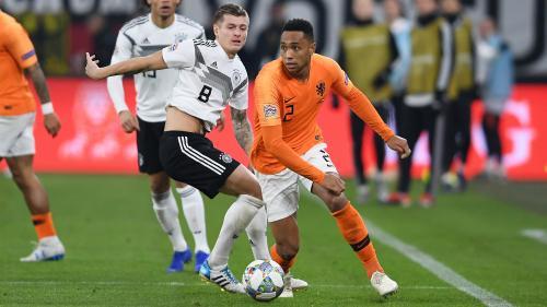 Ligue des nations : la France éliminée après le match nul entre l'Allemagne et les Pays-Bas (2-2)