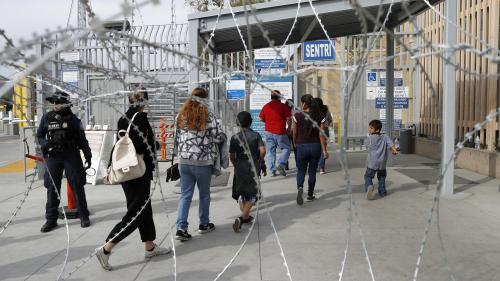 Tijuana, ville sous tension avec l'arrivée de réfugiés centraméricains