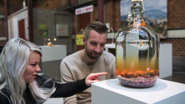 """VIDEO. Fromage aux asticots, hamster rôti, vin de souriceaux... Bienvenue au """"musée de la nourriture dégoûtante"""""""