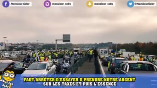 """VIDEO. La chanson d'un youtubeur sur les """"gilets jaunes"""" devient virale"""