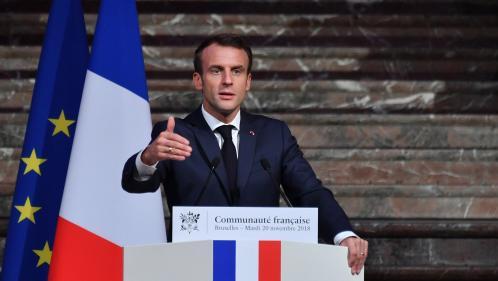 """""""Gilets jaunes"""" : """"Nous sommes un pays qui se cabre"""", juge Emmanuel Macron"""
