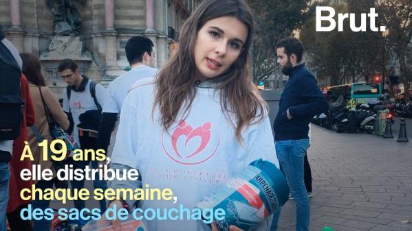 VIDEO. Des étudiants montent une association pour venir en aide aux sans-abri