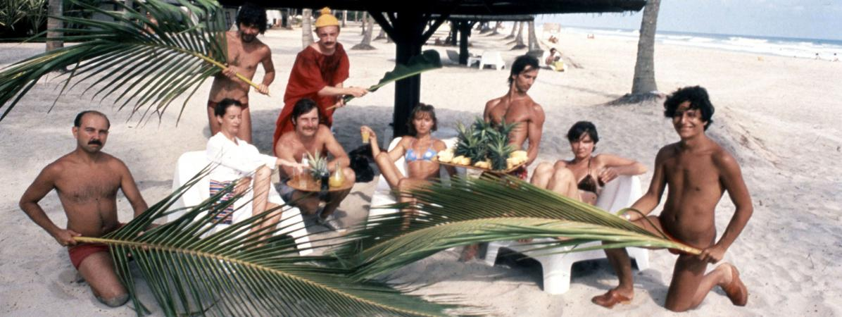 Les Bronzés en 1978.