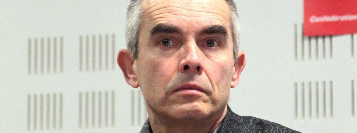 Yves Veyrier, le 18 janvier 2010, à Paris.