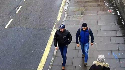 Affaire Skripal : la police britannique diffuse une nouvelle vidéo des suspects