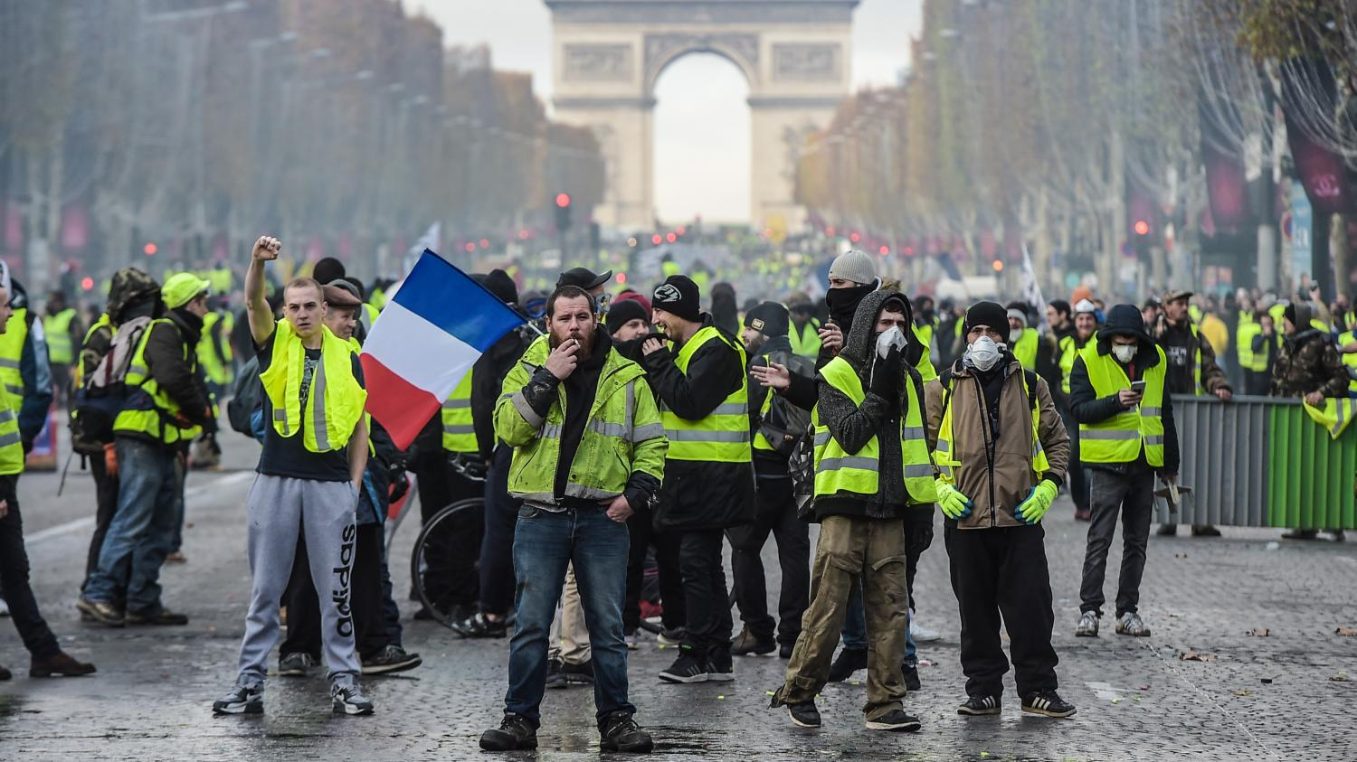 news paris gilets jaunes