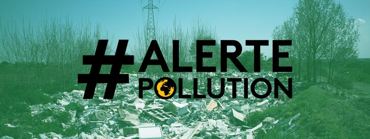 Des entreprises jettent leurs déchets dans la nature à Poissy (Yvelines), le 20 avril 2018.