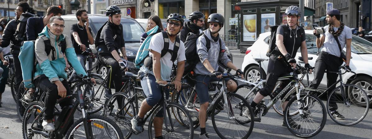 La Cour de cassation estime que les livreurs à vélo sont des ...