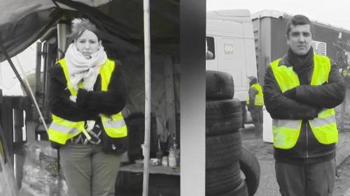 """VIDEOS. """"On est prêts à passer Noël ici"""" : on a passé une semaine avec les """"gilets jaunes"""" d'Hirson, dans l'Aisne"""