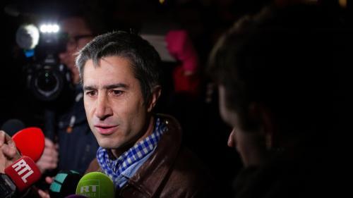 """VIDEO. """"Gilets jaunes"""" : Emmanuel Macron """"doit partir avant de rendre notre pays fou de rage"""", estime François Ruffin"""