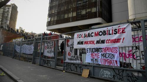 Deux sites d'universités parisiennes perturbés par des blocages