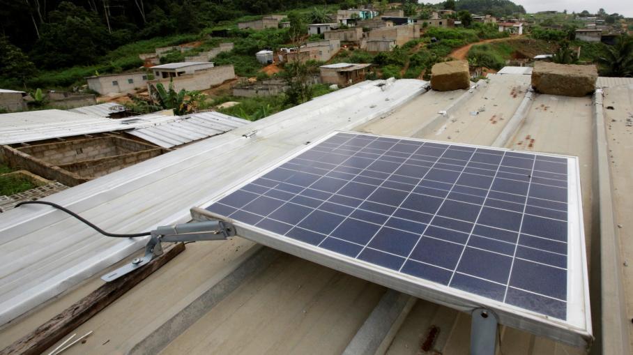 c te d 39 ivoire construction de la premi re centrale solaire flottante d 39 afrique. Black Bedroom Furniture Sets. Home Design Ideas
