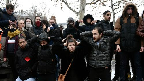 Les lycéens poursuivent leur mobilisation pour la deuxième semaine