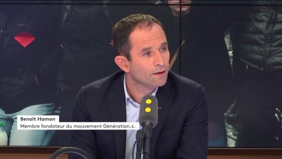 Benoît Hamonétait l\'invité de franceinfo vendredi 7 décembre 2018.