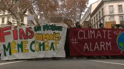 DIRECT. Marche mondiale pour le climat : Lyon donne le coup d'envoi