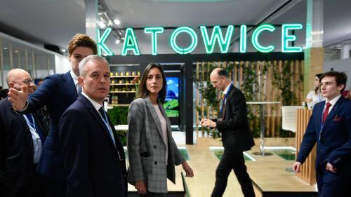 """""""C'est un peu confus"""" : l'ombre des """"gilets jaunes"""" plane dans les couloirs de la COP24, la conférence mondiale sur le climat"""