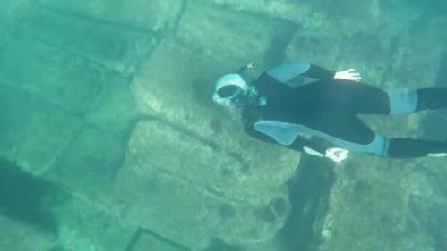 Var : visiter un site archéologique sous l'eau