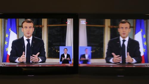 """REPLAY. """"Gilets jaunes"""" : regardez en intégralité l'allocution d'Emmanuel Macron"""