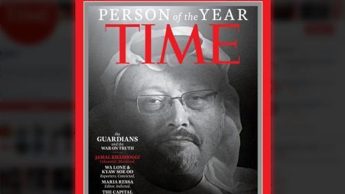 """Le journaliste saoudien Jamal Khashoggi élu personnalité de l'année pour le magazine """"Time"""""""