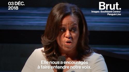 """VIDEO. """"Vous devez valoriser son point de vue"""" : Le message de Michelle Obama aux parents de petites filles"""
