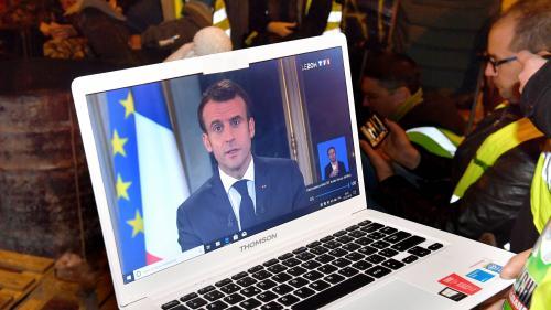 """""""Gilets jaunes"""" : 54% des Français souhaitent la poursuite des actions, en baisse de 12 points par rapport à fin novembre"""
