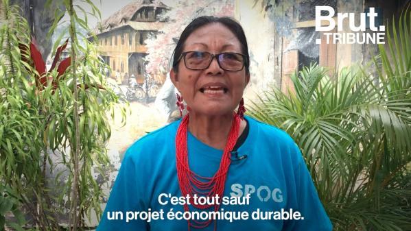 VIDEO. Tribune : des militants guyanais s'insurgent contre un projet d'exploitation pétrolière