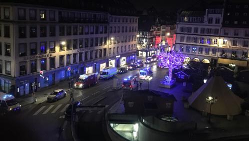 """""""Venez à Strasbourg, continuez à vivre comme vous viviez avant, refusez le diktat des terroristes"""""""