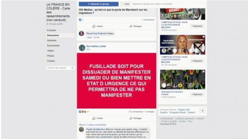 """Attentat à Strasbourg : les thèses complotistes séduisent dans les rangs des """"gilets jaunes"""""""