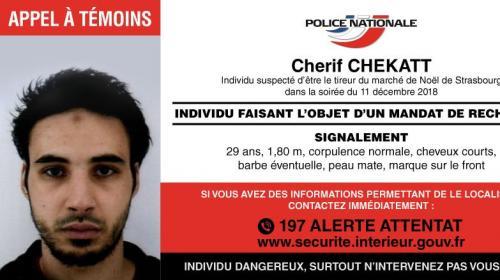 DIRECT. Attentat à Strasbourg : la police nationale diffuse un appel à témoins pour retrouver Chérif Chekatt, suspecté d'être le tireur