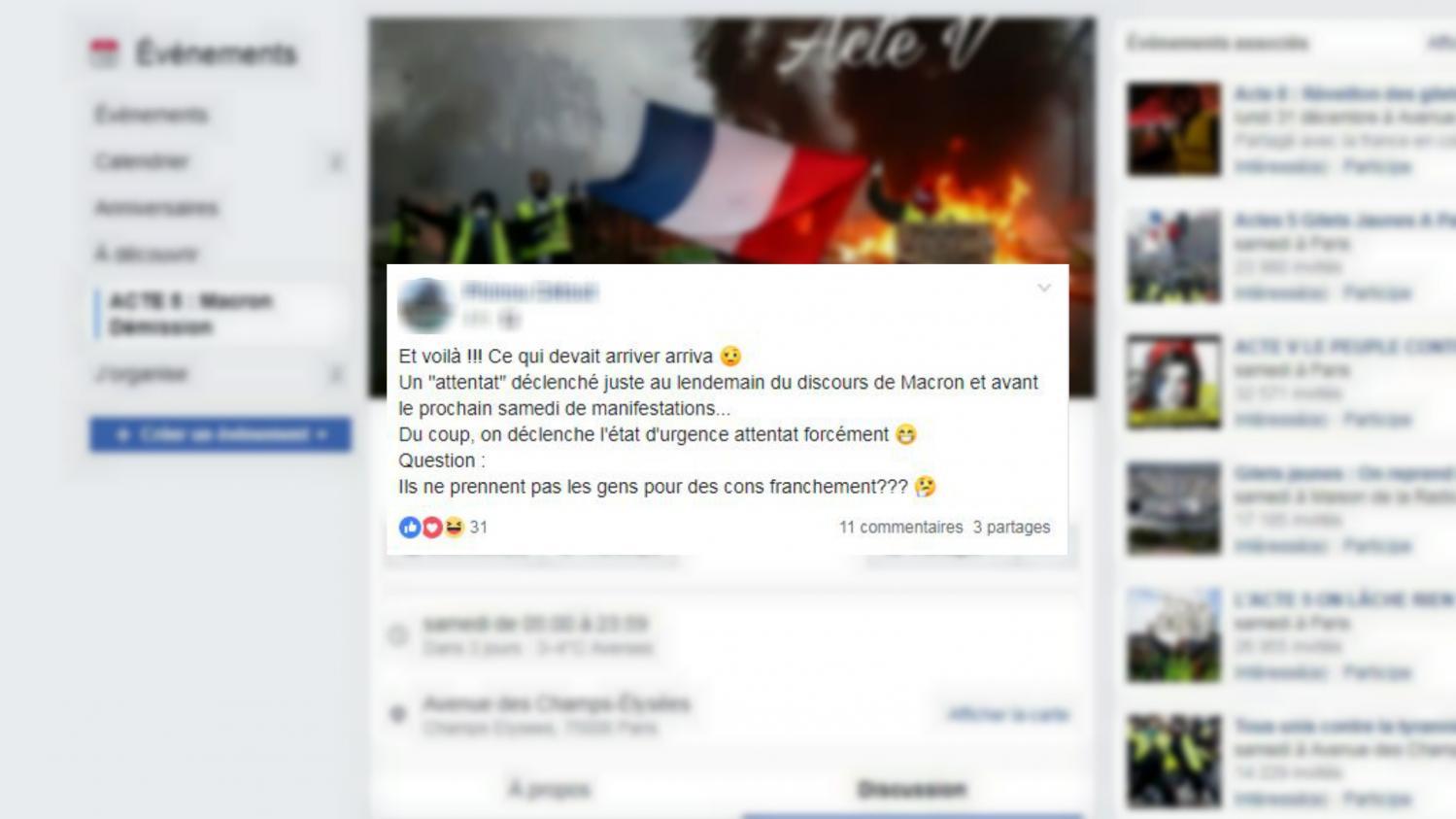 Attentat Facebook
