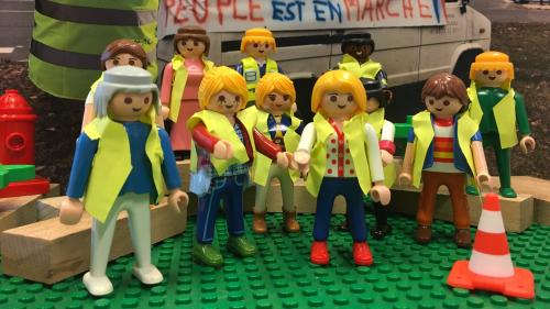"""La crise des """"gilets jaunes"""" expliquée aux enfants"""