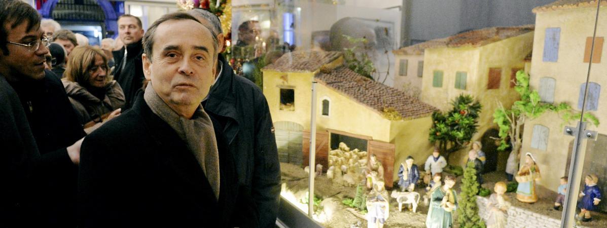 Robert Ménard, le maire de Béziers, le 4 décembre 2017.