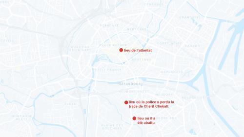CARTE. Attentat de Strasbourg: où Cherif Chekatt a-t-il été retrouvé et abattu?