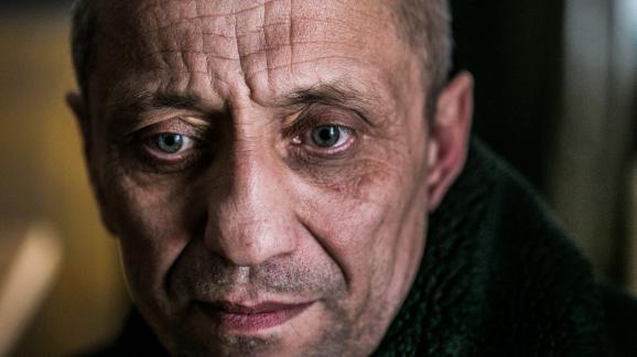 Letueur en série russeMikhaïl Popkov, le 3 décembre 2017 au tribunal d\'Irkoutsk, en Sibérie (Russie).