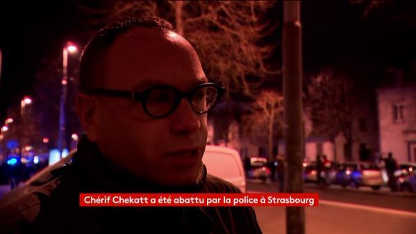 """VIDEO. """"On a entendu cinq ou six tirs simultanés"""": des riverains racontent l'opération pendant laquelle Cherif Chekatt a été tué à Strasbourg"""