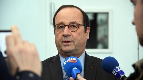 """Pour François Hollande, le mouvement des """"gilets jaunes"""" arrive à sa """"conclusion"""""""