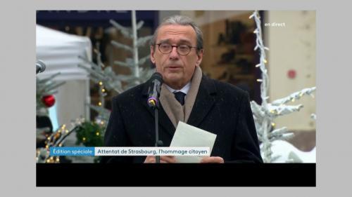 Attentat à Strasbourg: Macron à la rencontre des victimes et des policiers