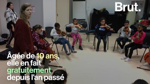 VIDEO. Grâce à la Philharmonie de Paris, des enfants apprennent la musique avec le programme Démos