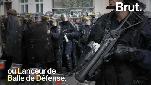 VIDEO. Quelles sont les armes utilisées par les forces de l'ordre dans les manifestations ?