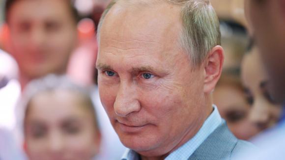 Le président russe Vladimir Poutine, le 15 août 2018.