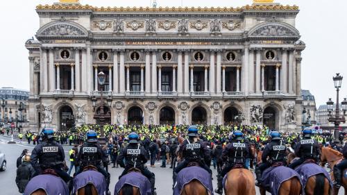 """""""Gilets jaunes"""" : bilan de """"l'acte 5"""" en France"""