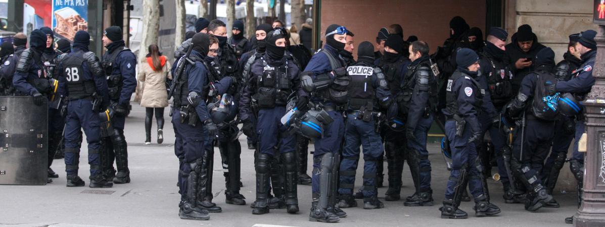 Colere Des Policiers L Epineuse Question Des Millions D Heures