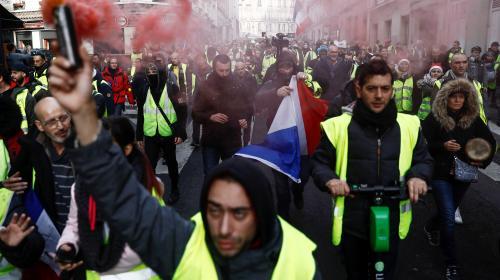 """DIRECT. """"Gilets jaunes"""" : 23 800 manifestants en France à 14 heures, contre 33 500 samedi dernier"""