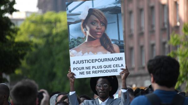 Strasbourg : un hommage à Naomi Musenga