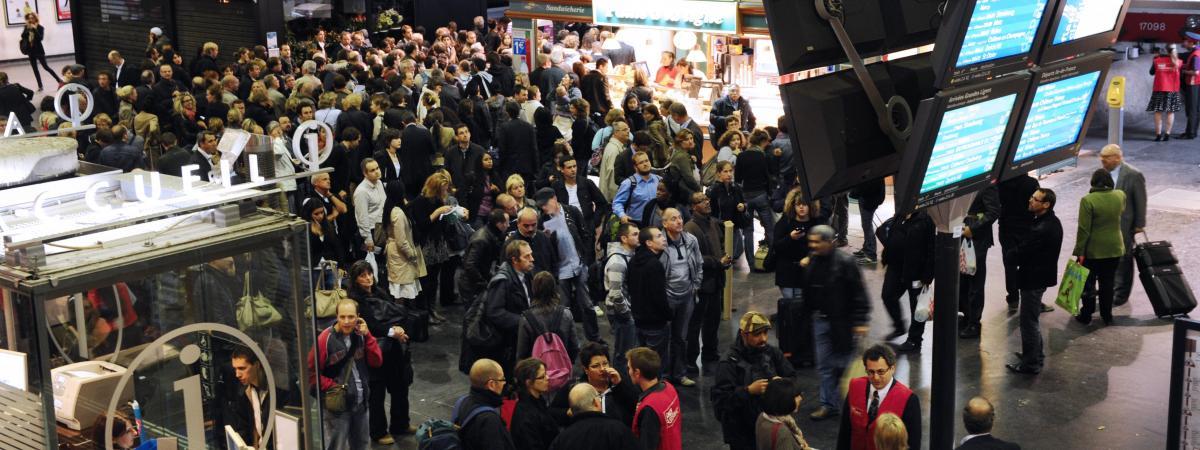 SNCF : les départs en vacances fortement perturbés par les grèves